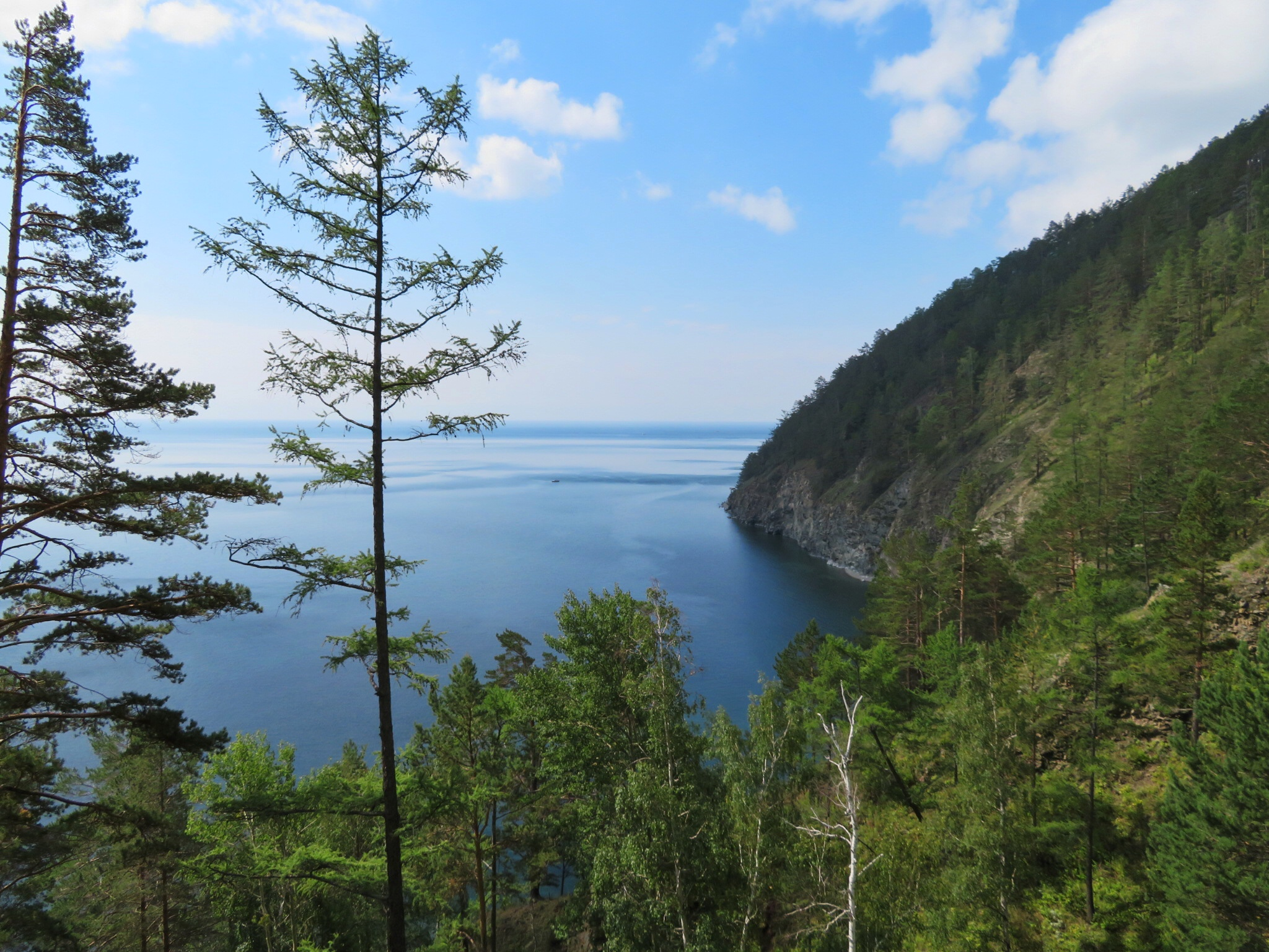 Viewpoint at Lake Baikal hike