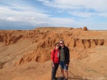 Flaming cliffs Mongolia