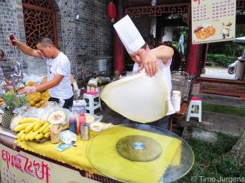 Street food Leshan