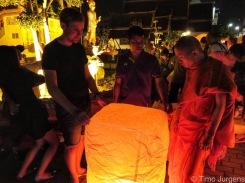 Lantern at Wat Buppharam