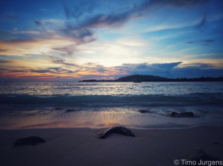 Sunset over Gili T