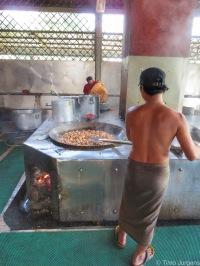 Cooking at Mahagandayon Monastery