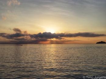 Sunrise at Ko Phaluai Ferry