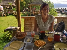 "German breakfast at ""Zum Grünen Baum"""