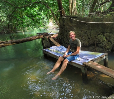 Chilling Tara Fish Spa Khanom