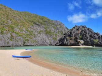 TAO jungle basecamp at Tapiutan Beach