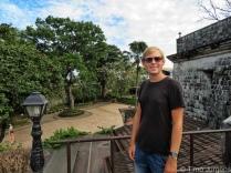 Timo at Fort San Pedro Cebu City