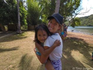 Happy children at Kuring village TAO